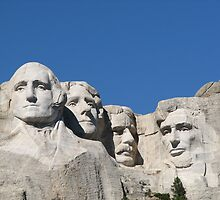 Mount Rushmore by bradleynflorida