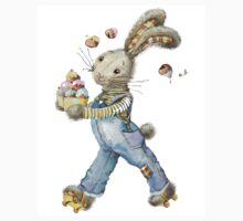 rabbit sweet baker. illustration, watercolor, T-Shirt