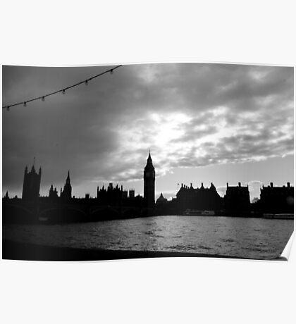 London, skyline Poster