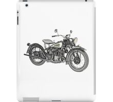 1941 Indian Scout 741 Motorcycle iPad Case/Skin