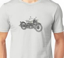 1941 Indian Scout 741 Motorcycle Unisex T-Shirt