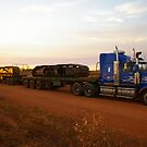 TRIPLE ROAD TRAIN ,BARKLEY TABLELAND by boydcarmody