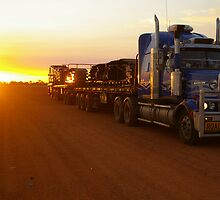 WESTERN STAR TRIPLE ROADTRAIN by boydcarmody