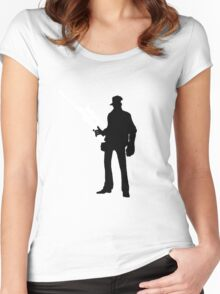 TF2 - Team Fortress 2 Sniper Shirt/Poster  Women's Fitted Scoop T-Shirt
