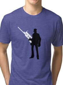 TF2 - Team Fortress 2 Sniper Shirt/Poster  Tri-blend T-Shirt