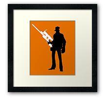 TF2 - Team Fortress 2 Sniper Shirt/Poster  Framed Print