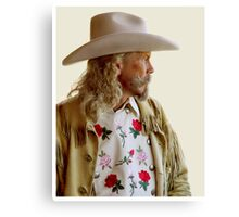 ALAN BAKER - AS BUFFALO BILL CODY Canvas Print