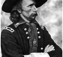 """THE YANKEE SWASHBUCKLER""-GEORGE CUSTER by Denny Karchner"