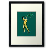 Kill Bad Framed Print