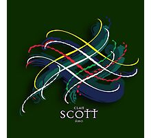 Scott Tartan Twist Photographic Print