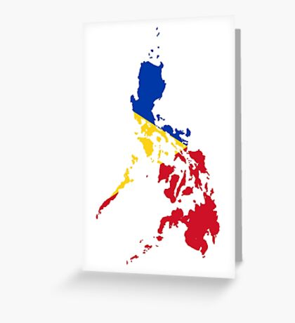 The Philippines Greeting Card