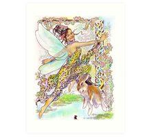 tropical fantasia - exuberance Art Print