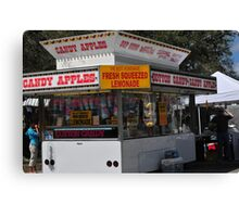 The Concession Stand  Canvas Print