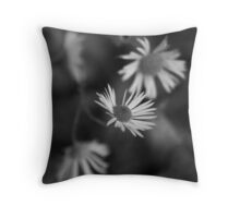 Blooming from the Gloom Throw Pillow