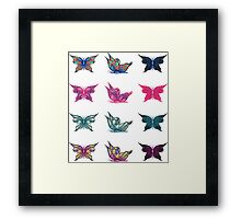 Colored butterflies 3 Framed Print