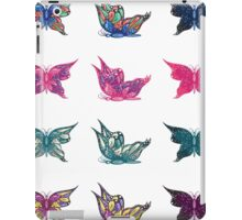 Colored butterflies 3 iPad Case/Skin