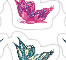 Colored butterflies 3 Sticker
