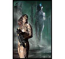 Cyberpunk Painting 041 Photographic Print