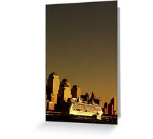 Prudential Sunset Greeting Card
