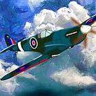Supermarine Spitfire WWII - all products bar duvet by Dennis Melling
