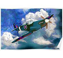 Supermarine Spitfire WWII - all products bar duvet Poster