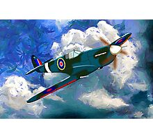Supermarine Spitfire WWII Photographic Print