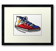 Pinoy Shoe Framed Print