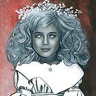 Petit Mal (A Portrait of JonBenet Ramsey) by TomCreates