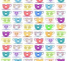 Disneyland TeaCups (Alternative Design) by ThatDisneyLover