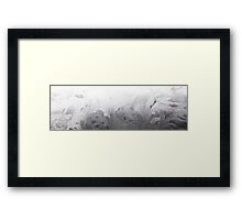 HDR Composite - Frost Patterns and Whorls 1 Framed Print