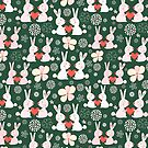 pattern of rabbit lovers by Tanor