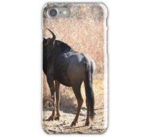 Blue Wildebeest iPhone Case/Skin
