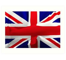 British Flag Art Print