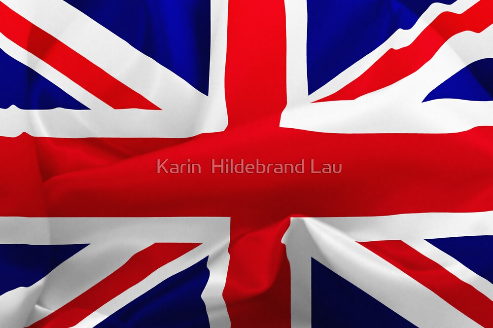 British Flag by Karin  Hildebrand Lau