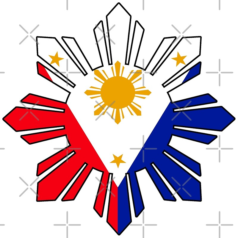 Philippines Flag Free Colouring Pages