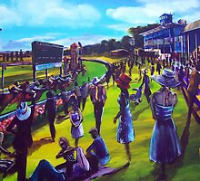 the running of the Ballarat Cup by tola