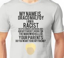 12 Days of StarKid: Malfoy Unisex T-Shirt