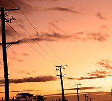 Sunset - Tomahawk  by bouche