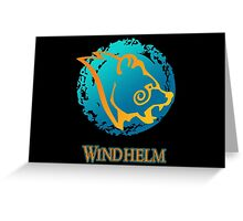 City Seal of Windhelm - The Elder Scrolls Greeting Card