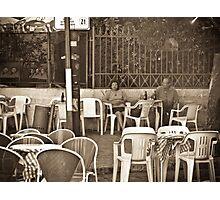 Aged Love Photographic Print
