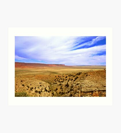 Vermillion Cliffs Art Print