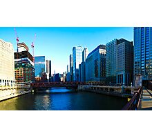 Chicago River Photographic Print