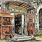 Italian Curio Shop by Warren. A. Williams
