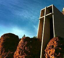 Chapel of the Holy Cross by Karin  Hildebrand Lau