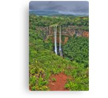 Mauritius Waterfalls Canvas Print