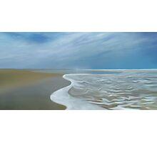Shore Line Photographic Print