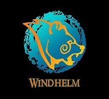 City Seal of Windhelm - The Elder Scrolls by Everett Day