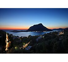 Kalymnos - Telendos after sunset Photographic Print