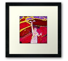 Liberty of the Breastless Framed Print