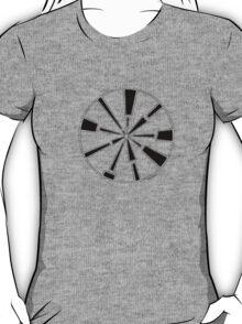 Mandala 6 Back In Black T-Shirt